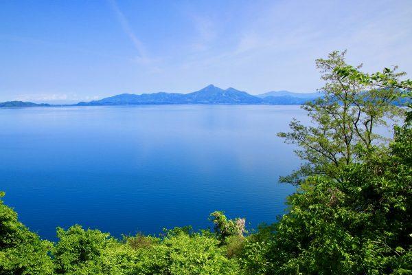 猪苗代湖サイクリングロード(福島県)