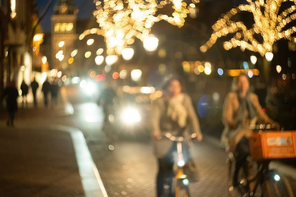 夜に自転車用ライトを点けないといけない理由