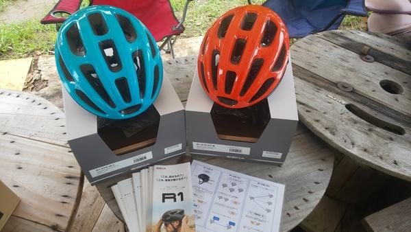 インカム付ヘルメット試着&体験できます。
